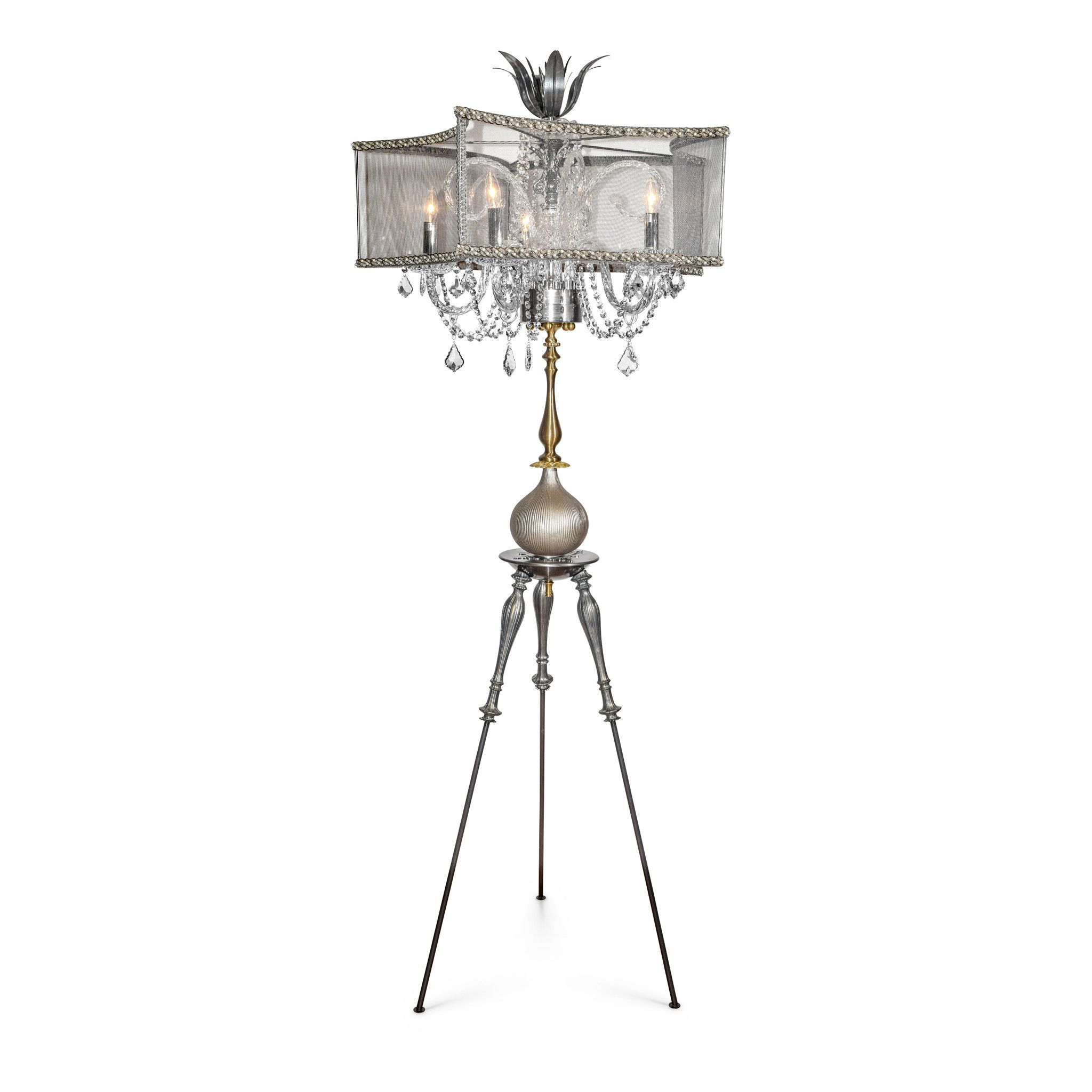 Ilia Standing Chandelier Floor Lamp