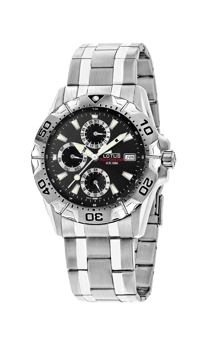 4cac81f716c1 Lotus 15301 6 - Reloj de caballero de cuarzo