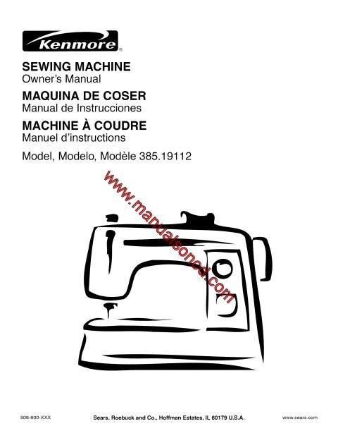 Kenmore 4040 Sewing Machine Instruction Manual Sewing Machine Stunning Kenmore Sewing Machine Model 385 Owners Manual