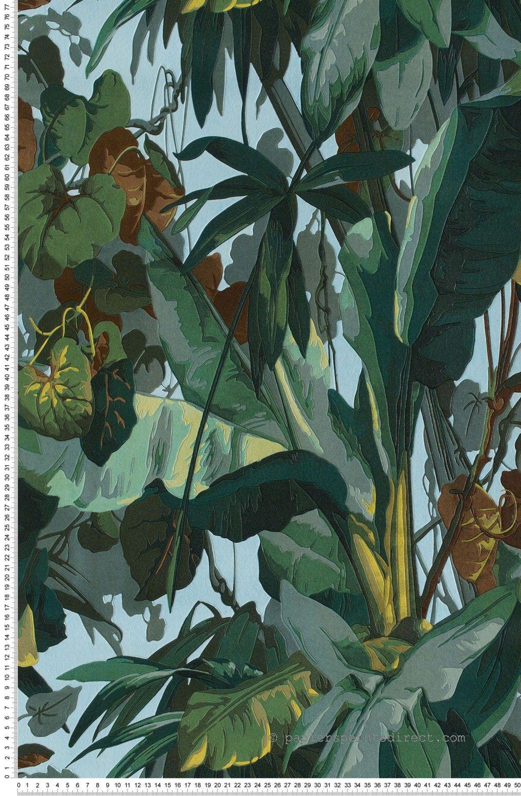 Jungle verte  Papier peint Dekora Natur dAS Création