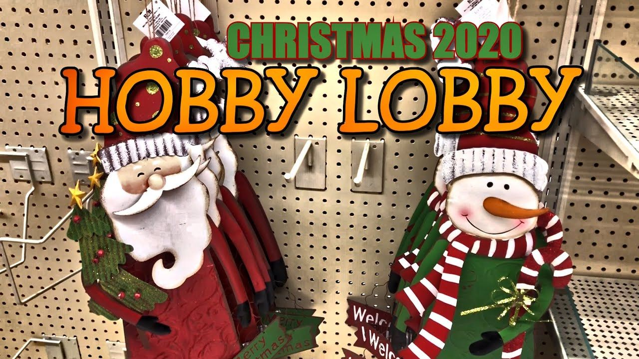 Christmas Decor 2020 • Hobby Lobby Christmas Decor