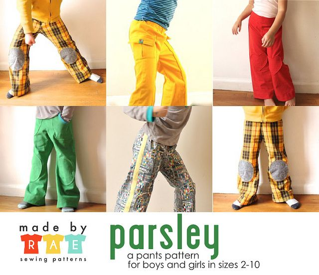 Parsley Pants Sewing Pattern is here | Pinterest | Schnittmuster ...