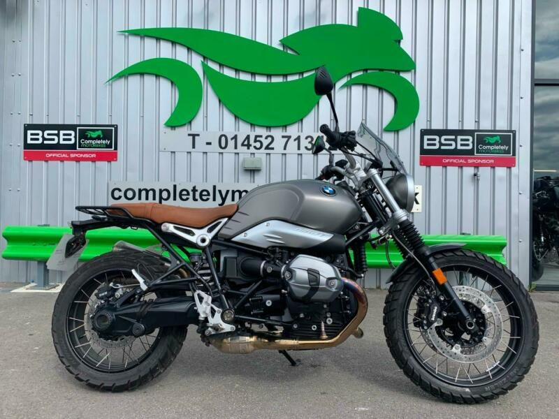 BMW R NINE T SCRAMBLER 2016 66 REG - ONLY 2492 MILES