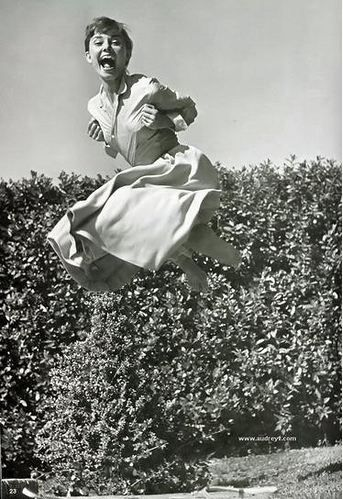 audrey in the air I