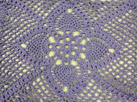 Crochet: Cuadrado con Piñas - YouTube   Cojines   Pinterest ...