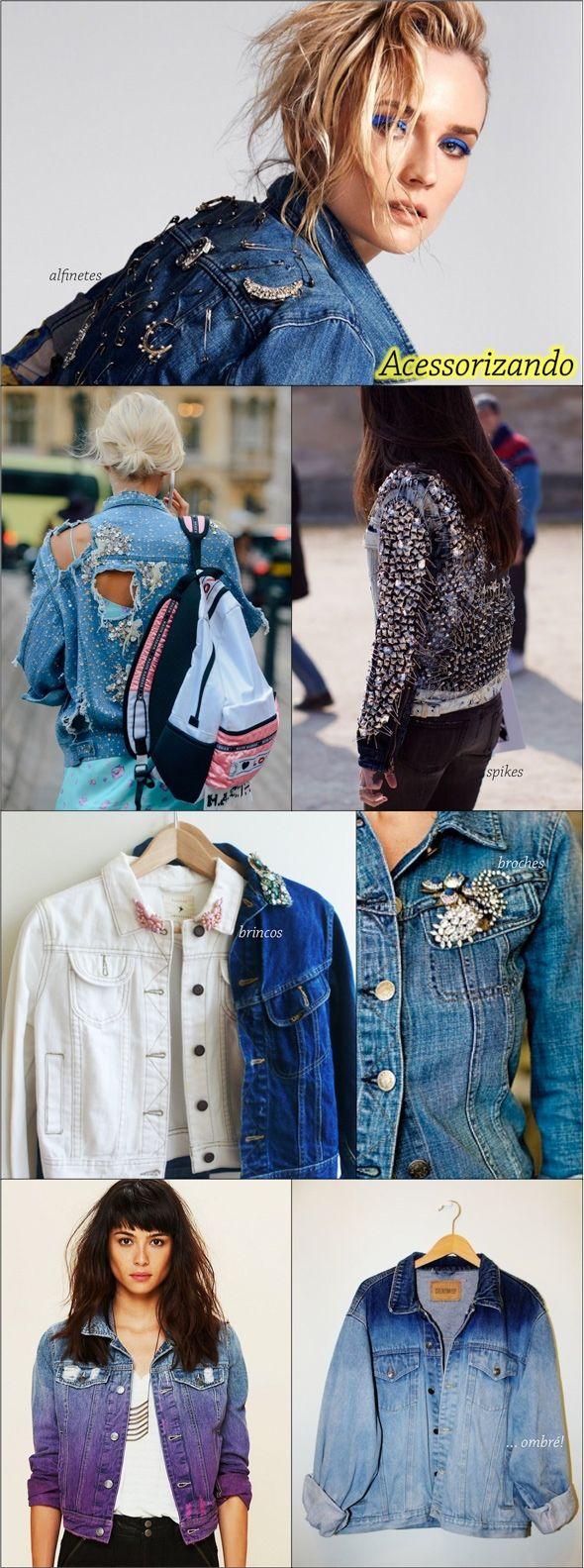 Taí um item atemporal, mas também célebre ícone dos anos anos 90: jaqueta jeans! Pode ser sua versão Planet Hollywood ou um modelo básico da Levi's, você abre no seu armário e tem pelo menos uma, senão duas…dado o vasto cenário, é peça fashion que pode ser irresistivelmente customizada! Esse post não é uma tendência […]
