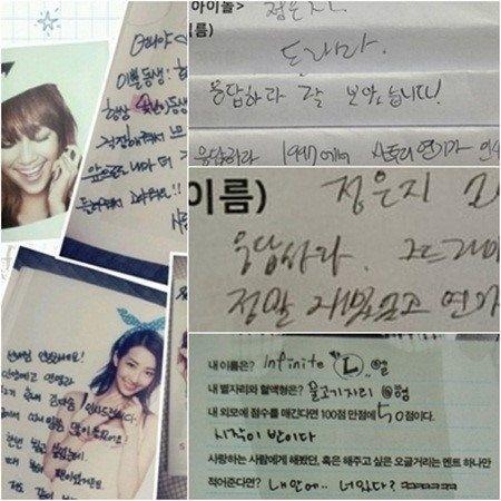 Which Idols Have Messy Handwriting Messy Handwriting Idol Handwriting