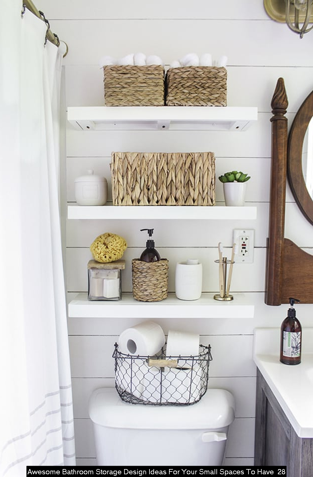 30+ Awesome Bathroom Storage Design Ideas For Your Small ...