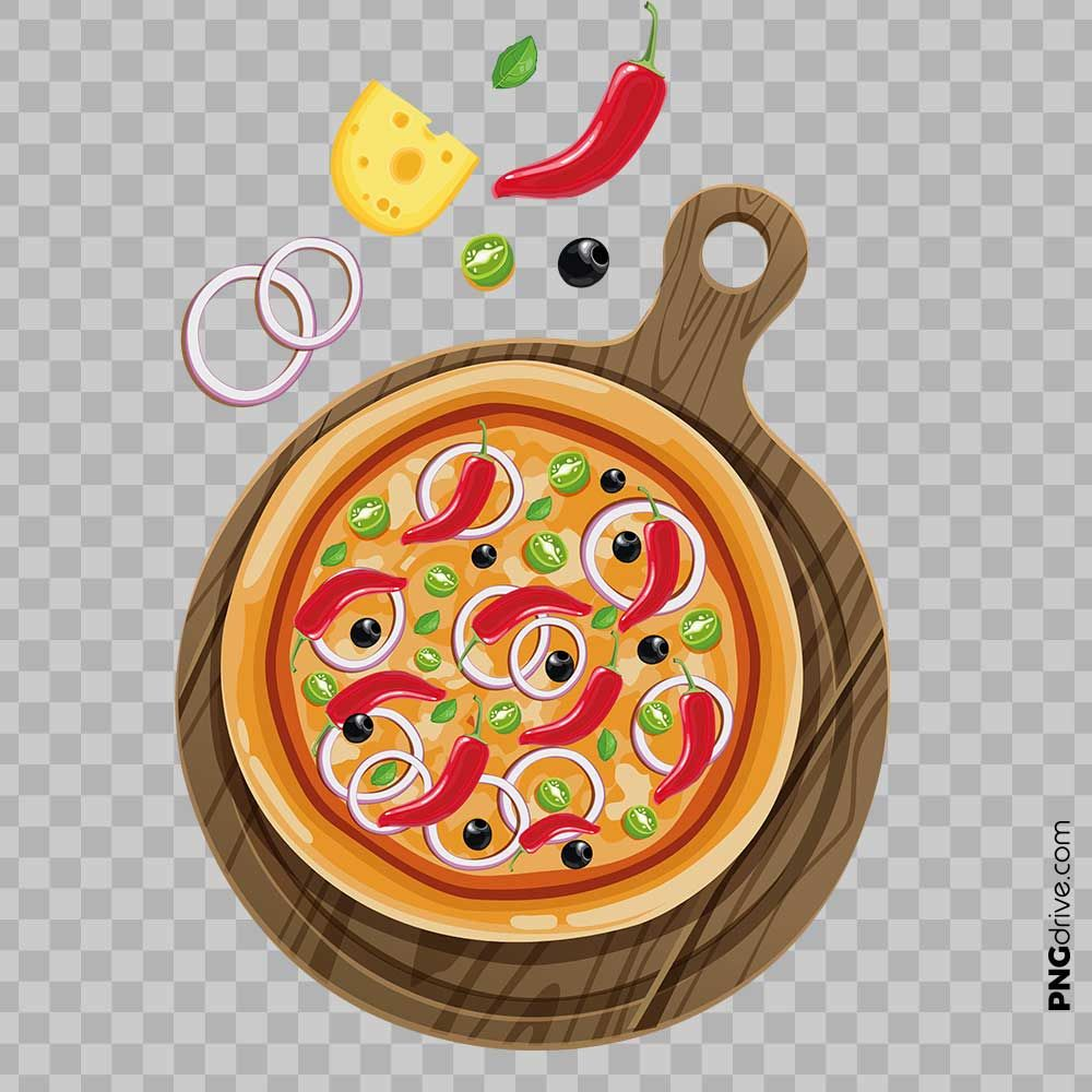 Pin By Png Drive On Pizza Png Images Food Png Pizza Vector Mix Pizza