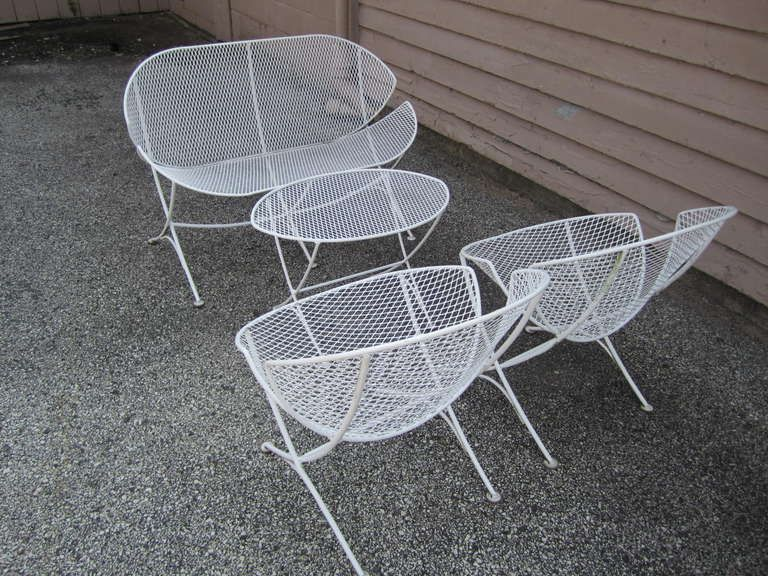 Outstanding set of Maurizio Tempestini designed patio furniture for ...