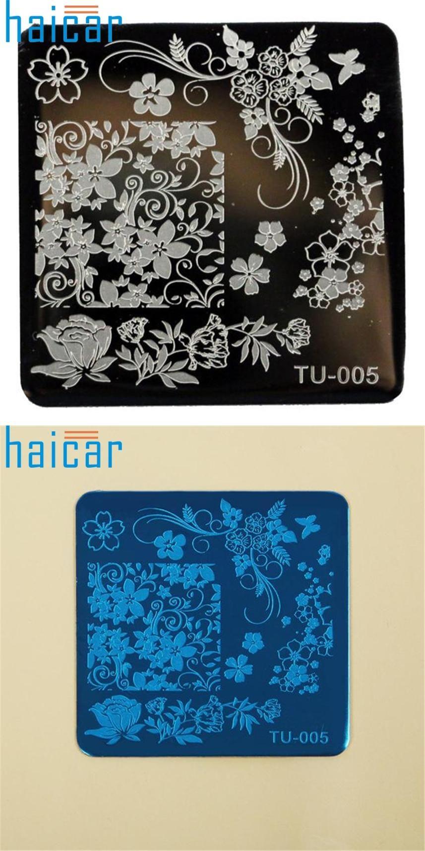 Visit to Buy] Pattern DIY Nail Art Image Stamp Stamping Plates ...