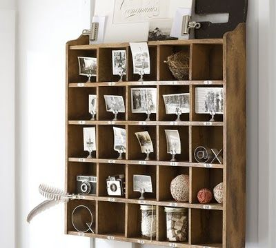 Honey And Maple Syrup Pottery Barn Cubby Organizer Knockoff