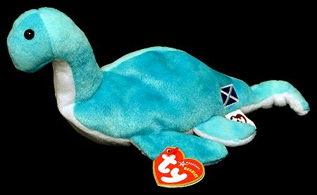 Mystery - Loch Ness creature - Ty Beanie Babies  f0987340927d