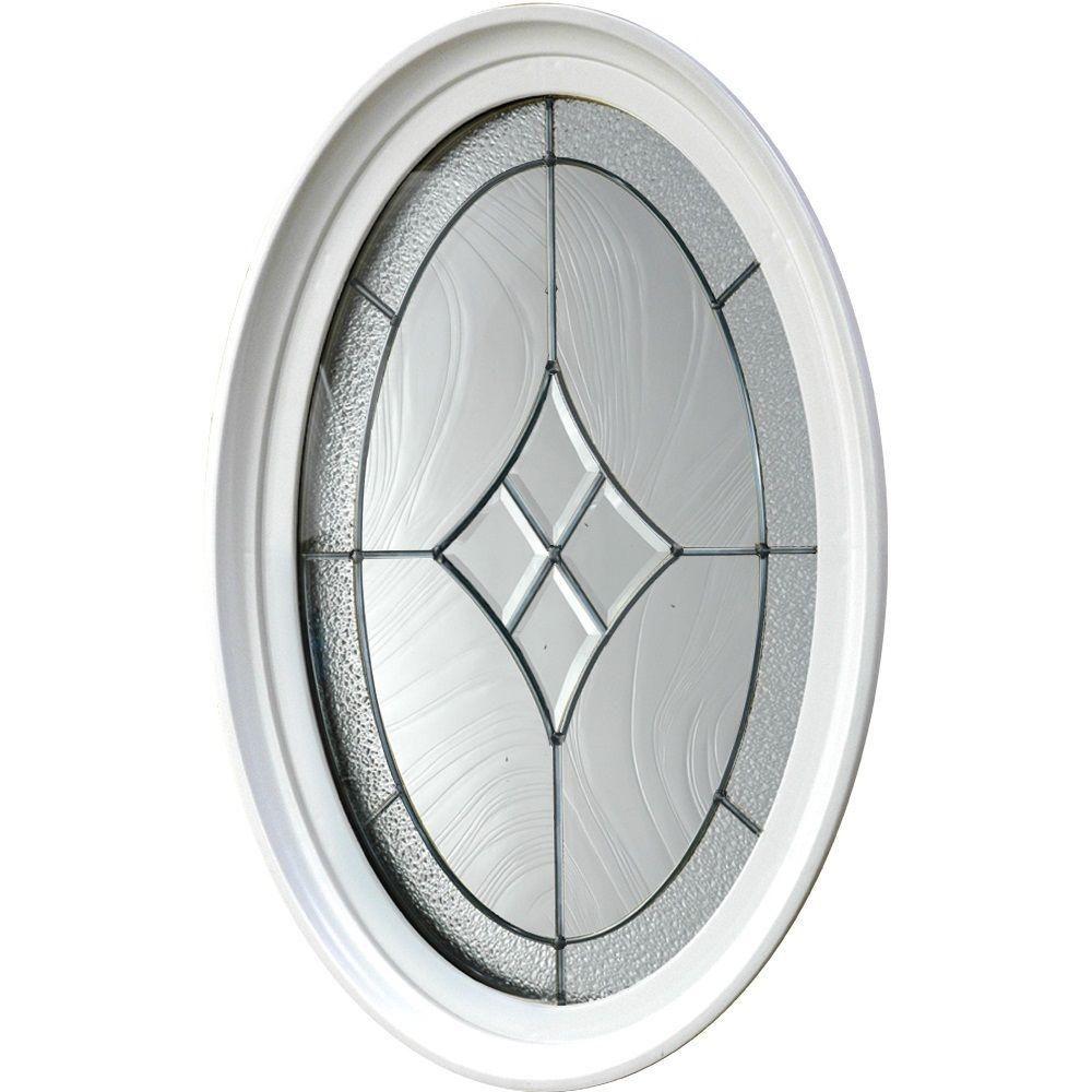 TAFCO WINDOWS 20 in. x 28.75 in. Geometric Vinyl Window - White ...