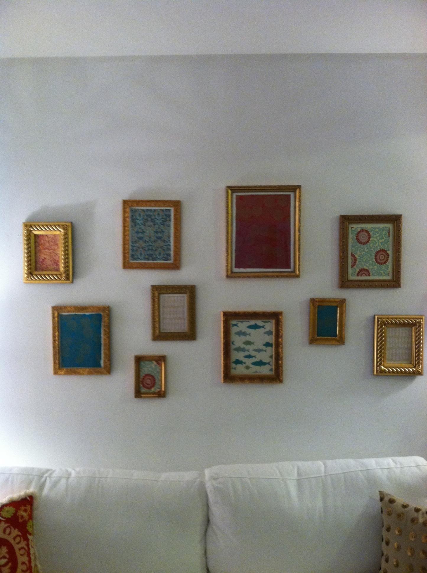 apartment DIY wall art Taking gift
