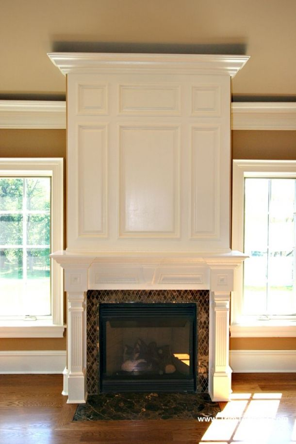 Great Molding Fireplace Remodel Home Fireplace Custom Fireplace