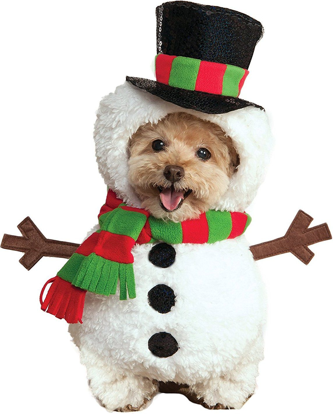 Rubie S Costume Company Snowman Dog Costume Medium Chewy Com