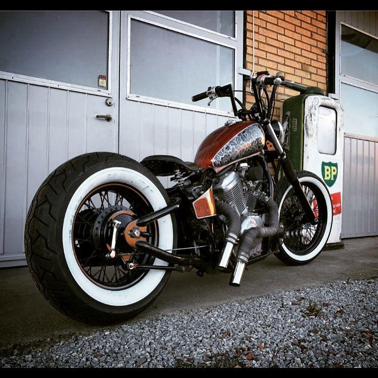 honda shadow vt600 bobber moto pinterest roue m canique et moto. Black Bedroom Furniture Sets. Home Design Ideas