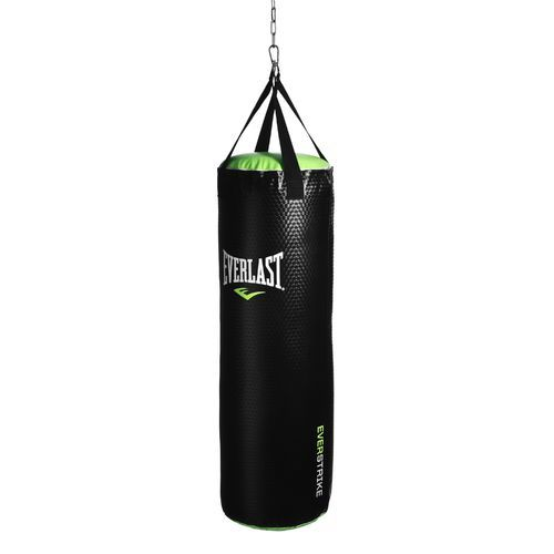 Nevatear Synthetic Leather Heavy Punching Bag Black Light Green Boxing And Accessories At Academy Sports