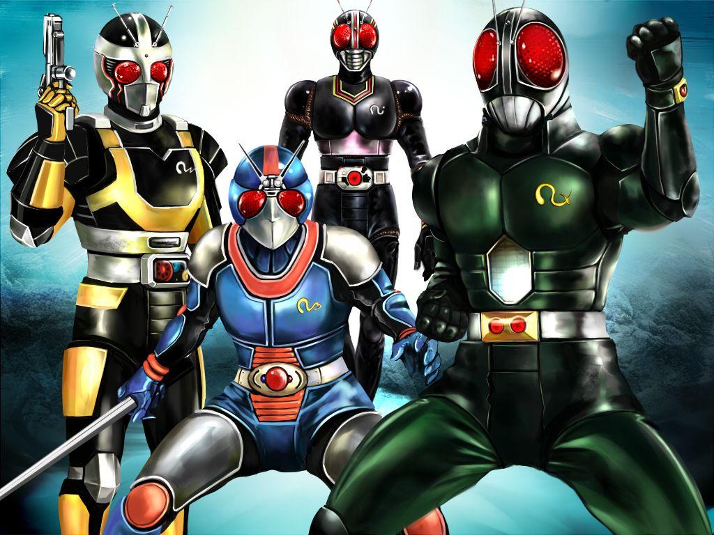 /Kamen Rider Black RX/1138682 Zerochan 仮面ライダー Ksatria