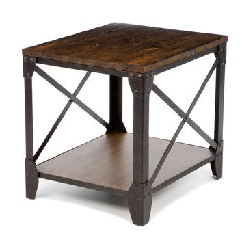 Office End Table Magnussen Pinebrook End Table 24h X 22w