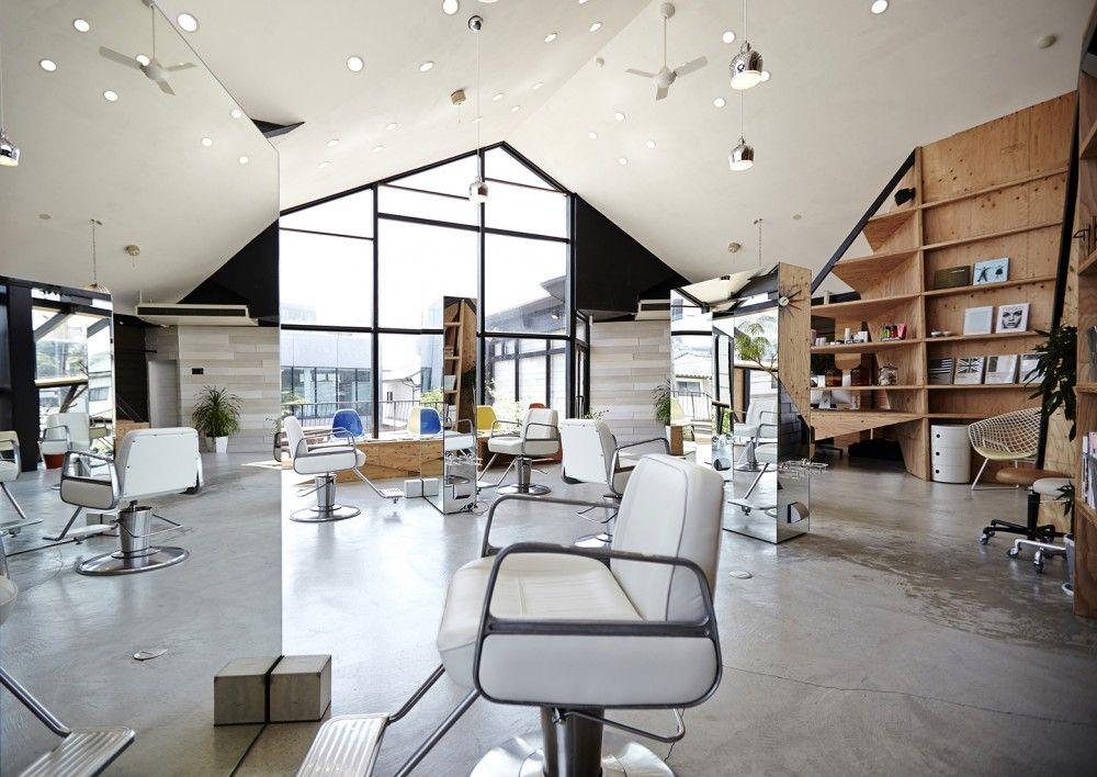 gallery of hair salon slundre bhis 7 in 2019 architect rh pinterest com