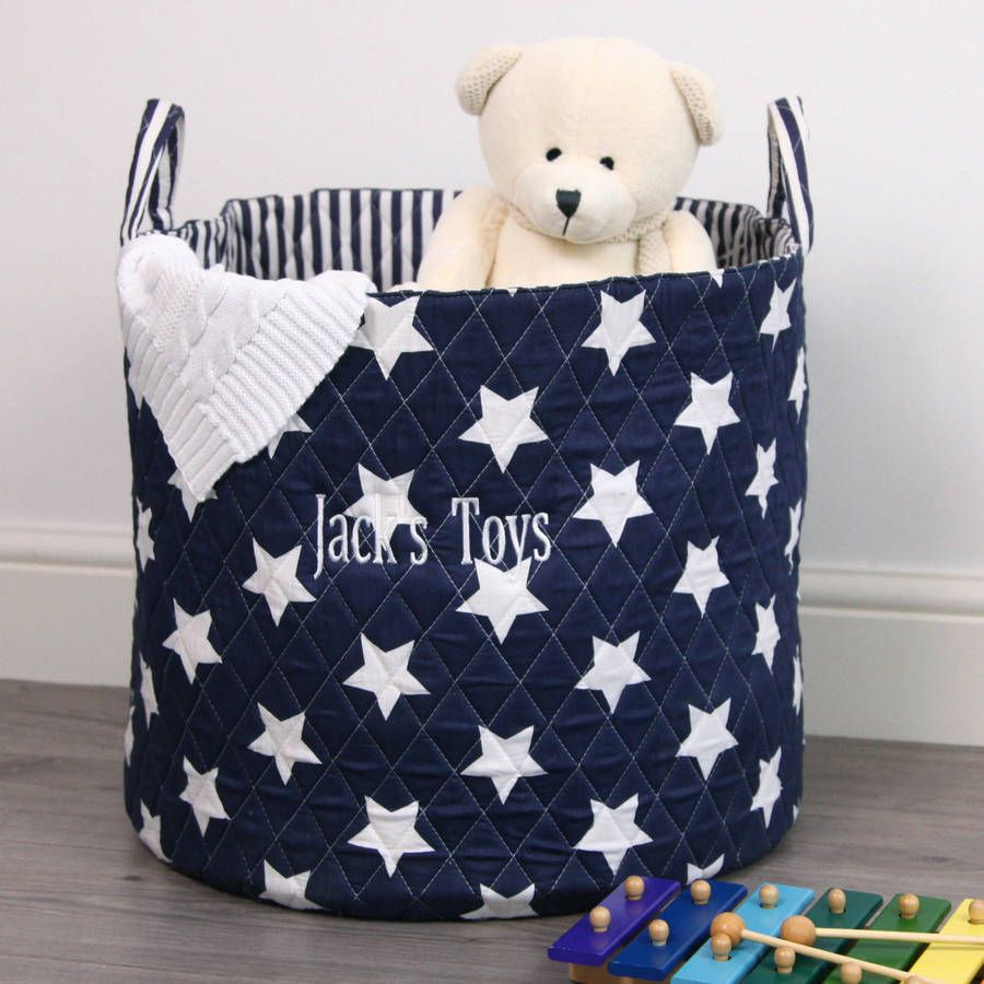 Keep All Your Childrenu0027s Toys Neat And Organised With Our Star Print Storage  Basket, A