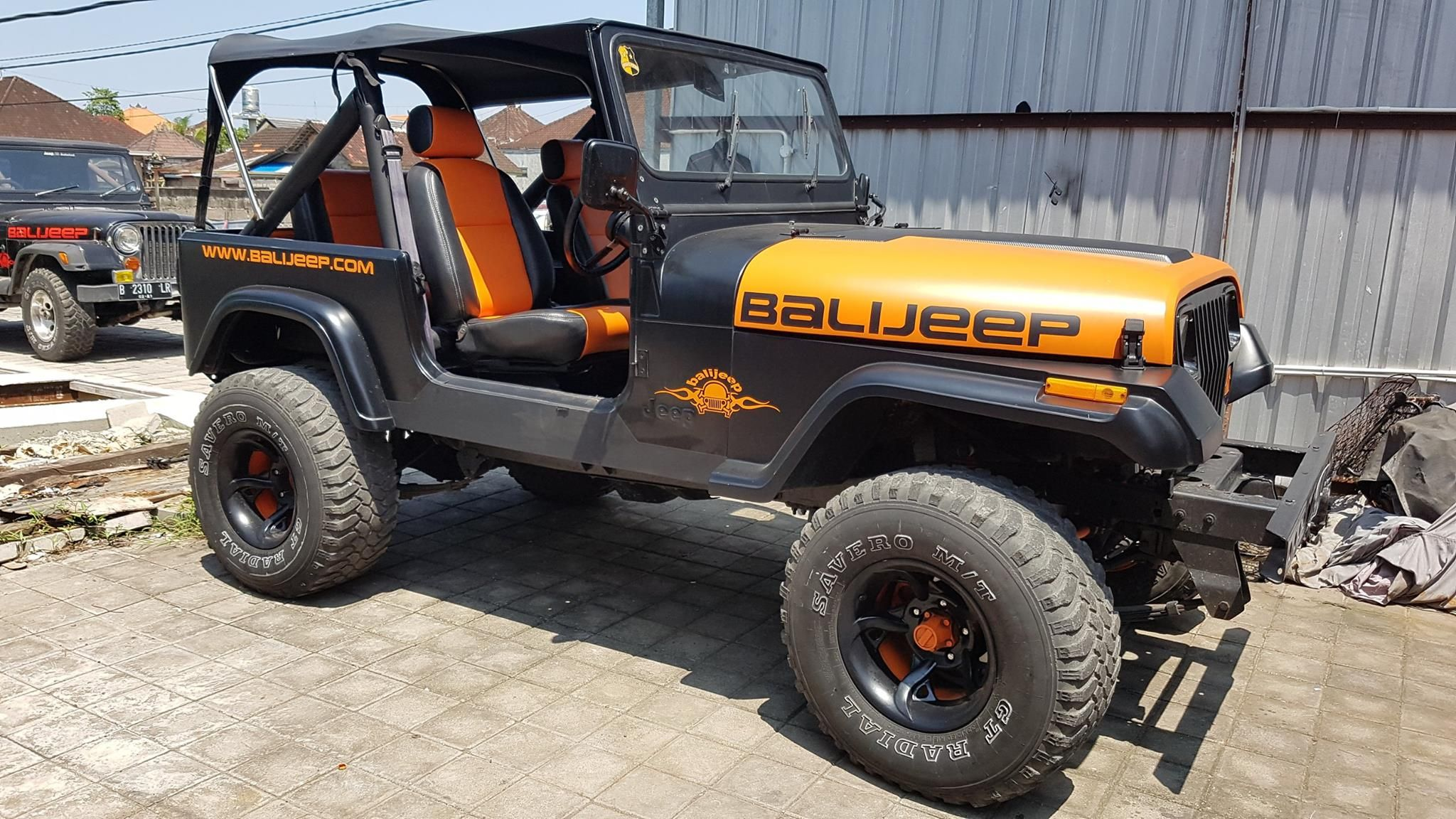 Balijeep Unique 4x4 Rambo Jeep Recreational Vehicles