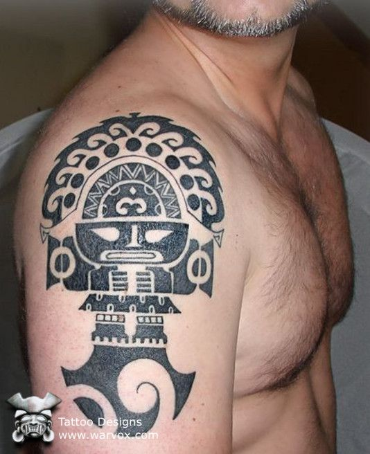 Tribal Tumi Tattoo » ₪ AZTEC TATTOOS ₪ Aztec Mayan Inca