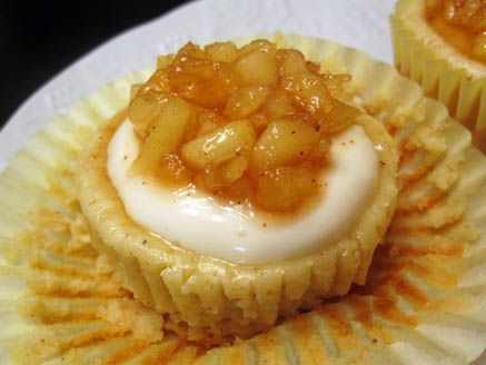 Apple Cheesecake Cupcakes