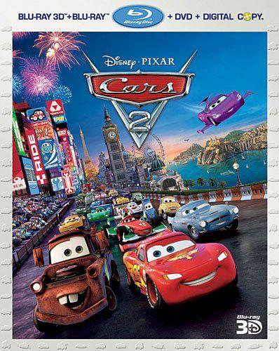 cars 2 five disc combo blu ray 3d blu ray dvd digital copy rh in pinterest com