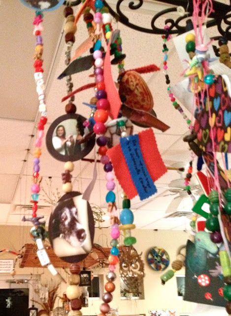 Reggio Emilia: Hanging Art - Fairy Dust Teaching various hanging art/mobile ideas