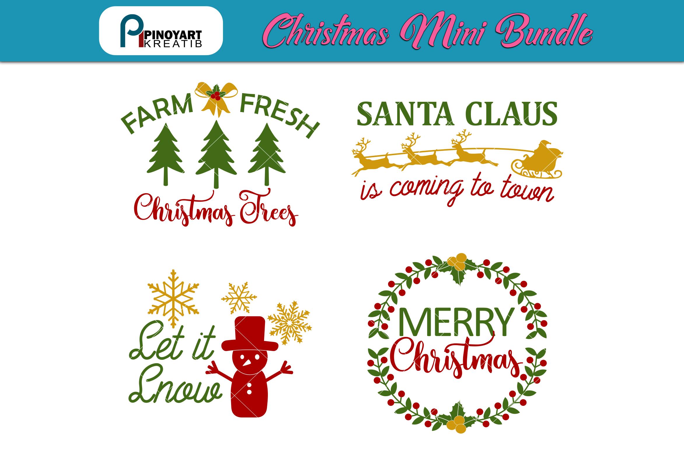 Download Christmas svg Mini Bundle, Christmas svg,Merry Christmas ...