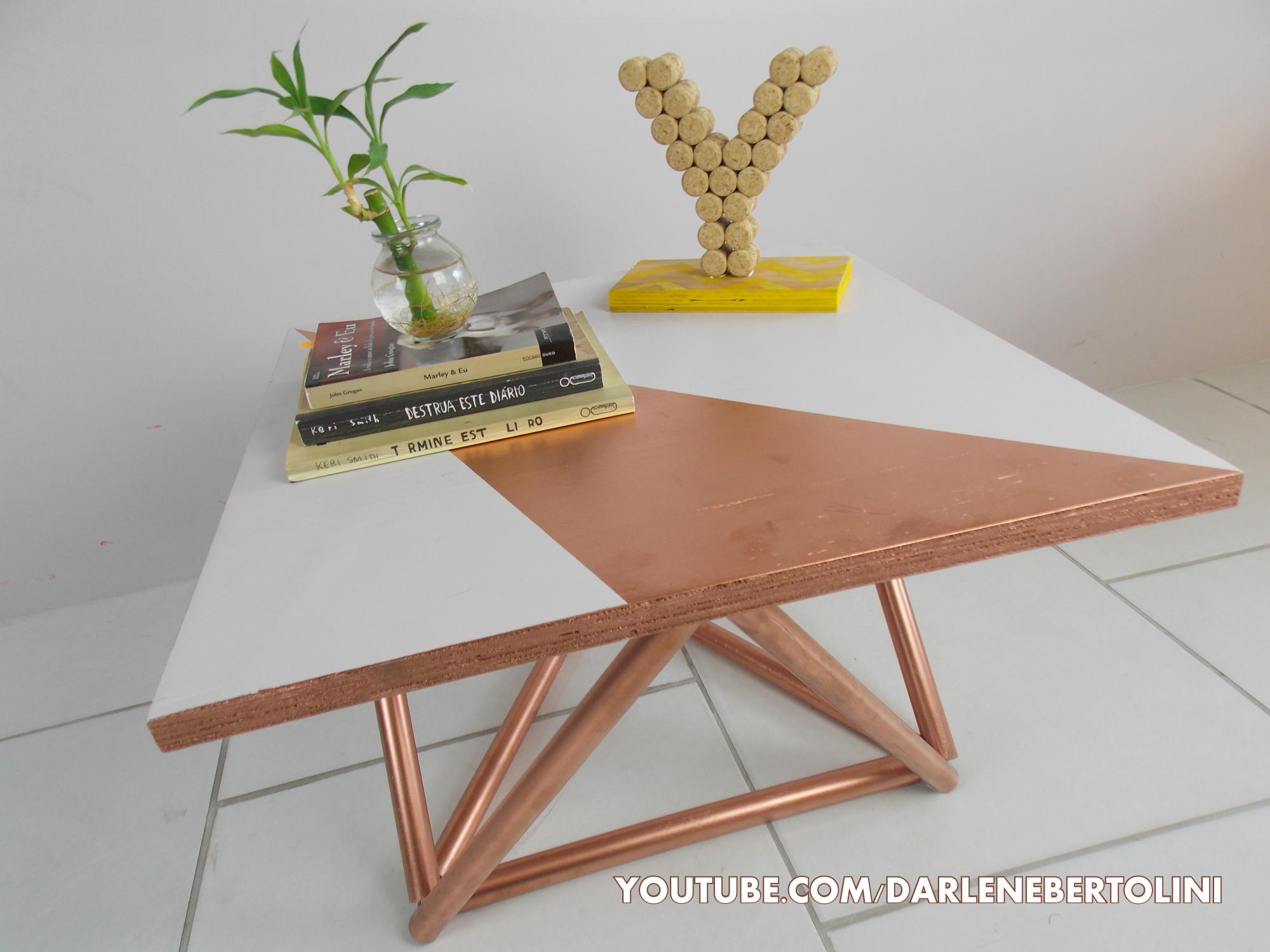 DIY mesa de centro cano de PVC DIY PVC Pinterest