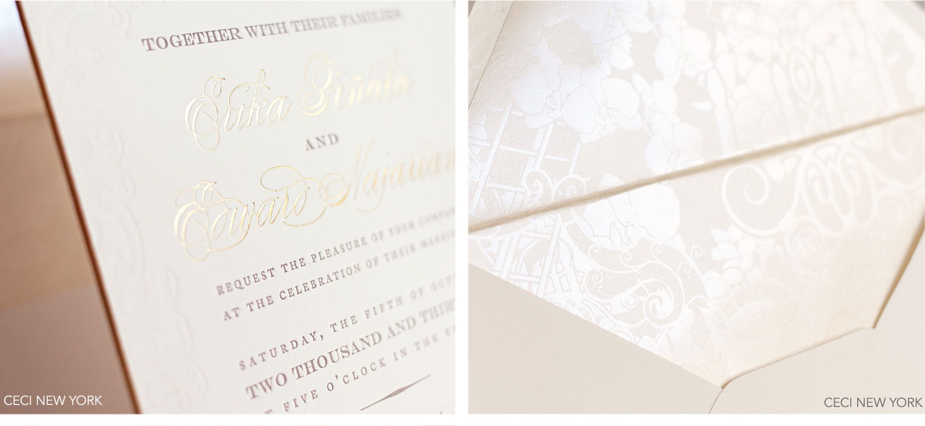 letterpress wedding invites london%0A Luxury Wedding Invitations by Ceci New York  Blush and Pewter Wedding    Wedding ideas   Pinterest   Pewter wedding  Wedding and Weddings