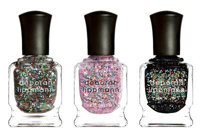 HAPPY BIRTHDAY: a party in a bottle (glitter) CANDY SHOP: bubblegum pink (glitter) FORGET YOU: party all night (glitter)