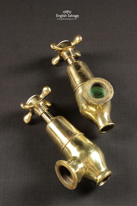 Restored Brass Globe Bath Taps | Bathrooms, Belfasts and Taps ...