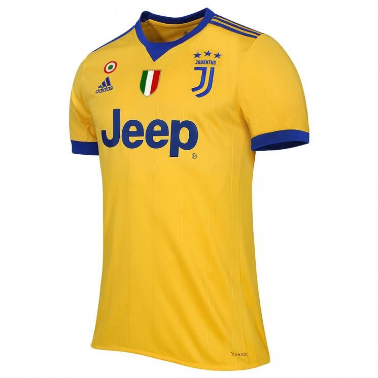 Yellow and blue as Turin crest: buy the new Away Jersey at the ...