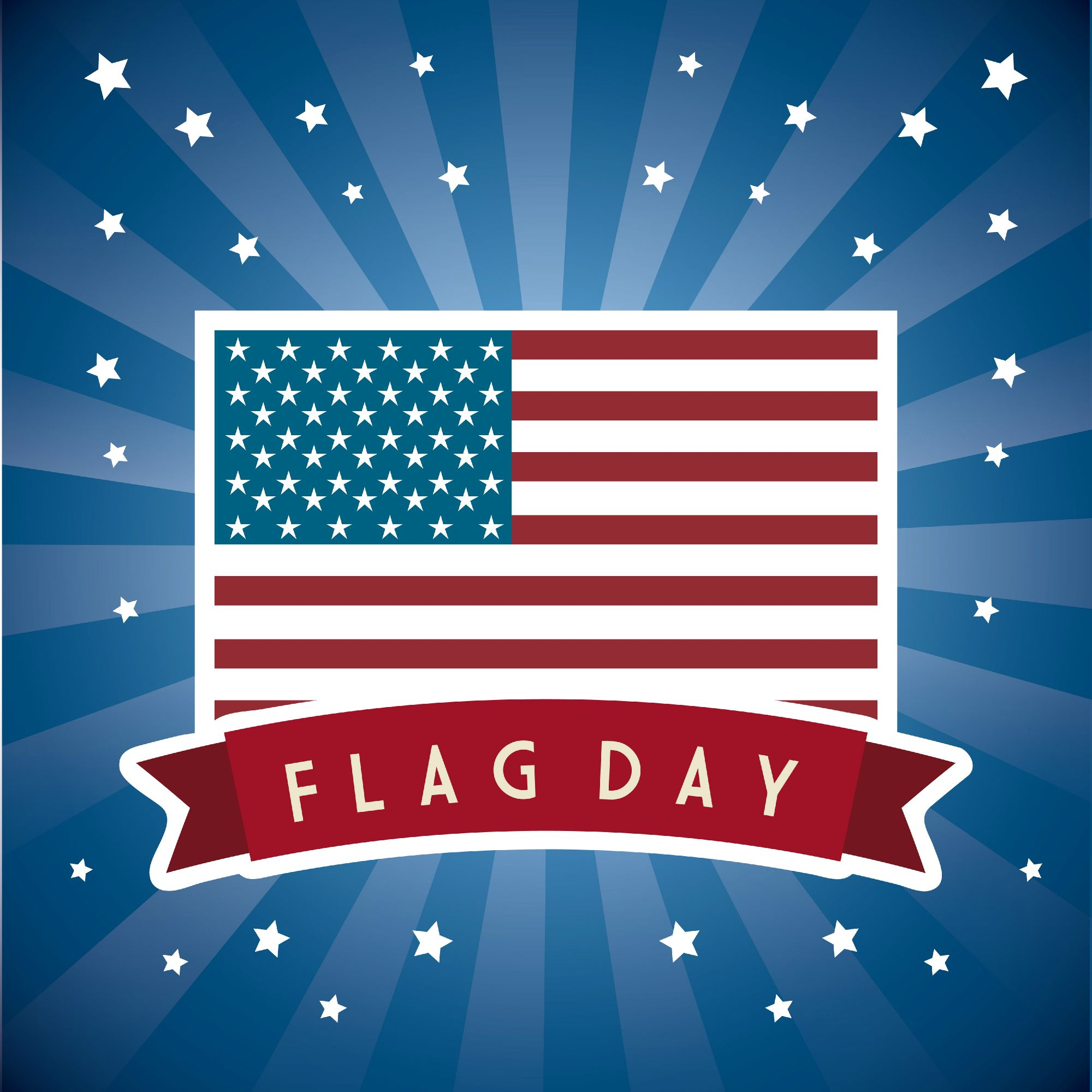 Happy Flag Day Did You Know That The 50 Stars On The American Flag Represent Each Of The 50 States In The U S And The 13 Stripes Flag Us Flags American Flag
