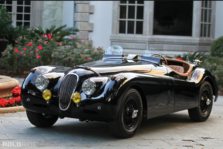 1954 jaguar xk120 se roadster | awesome things with wheels