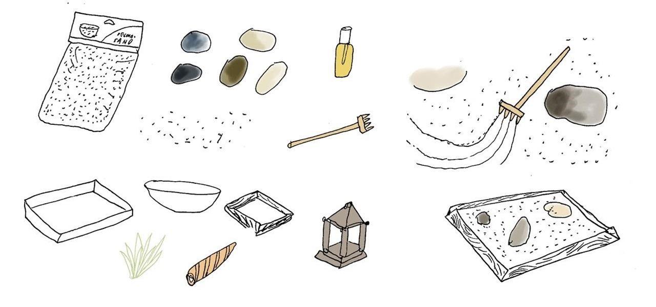 How To Make A Miniature Meditative Zen Garden For Your Desktop