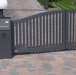 Zäune, Gartenzaun, Zaun, Tor, Tore Aus Aluminium