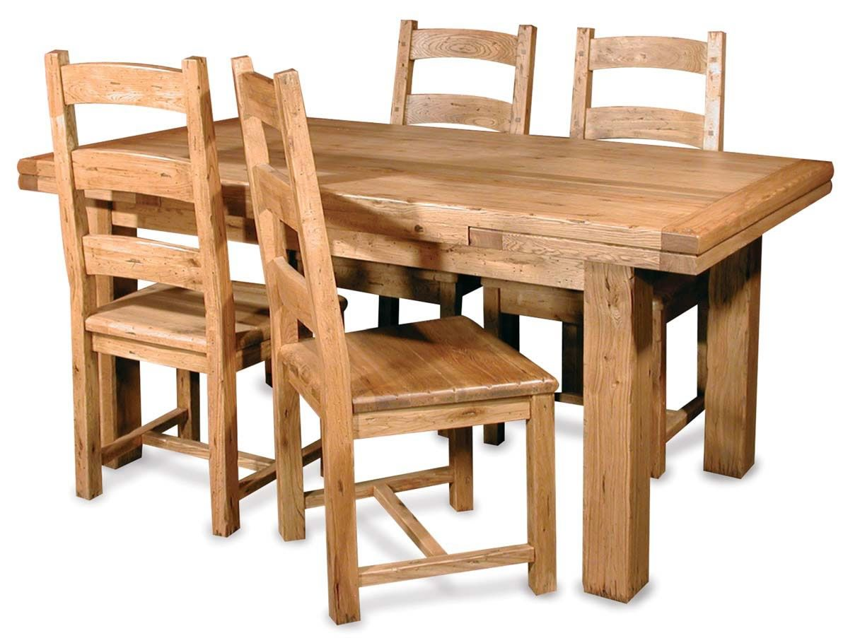 Solid Wood Kitchen Table And Chairs Solid