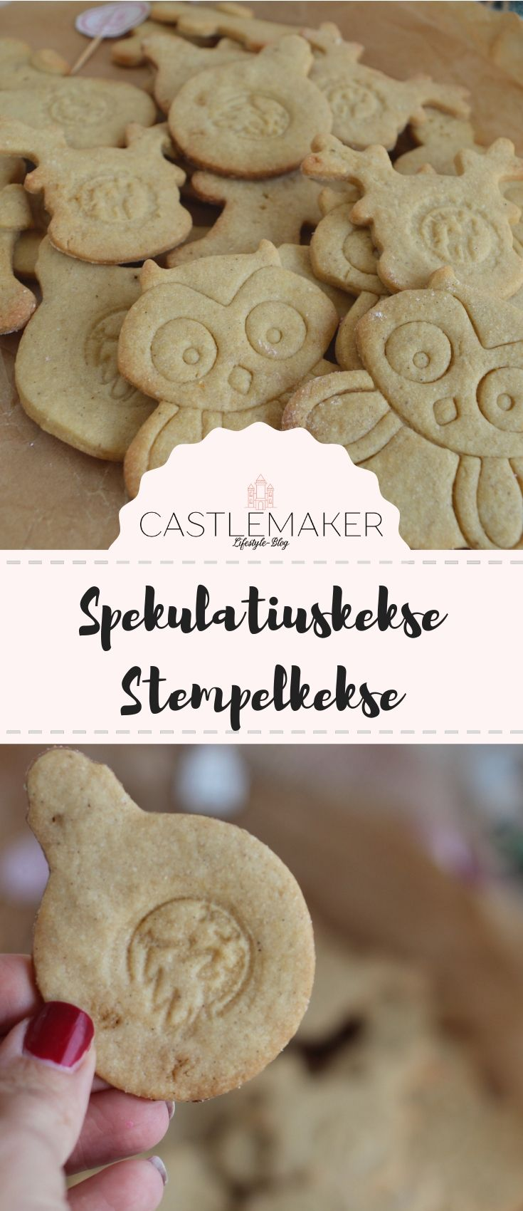 Photo of RECIPE for speculum cookies – also suitable as stamp cookies