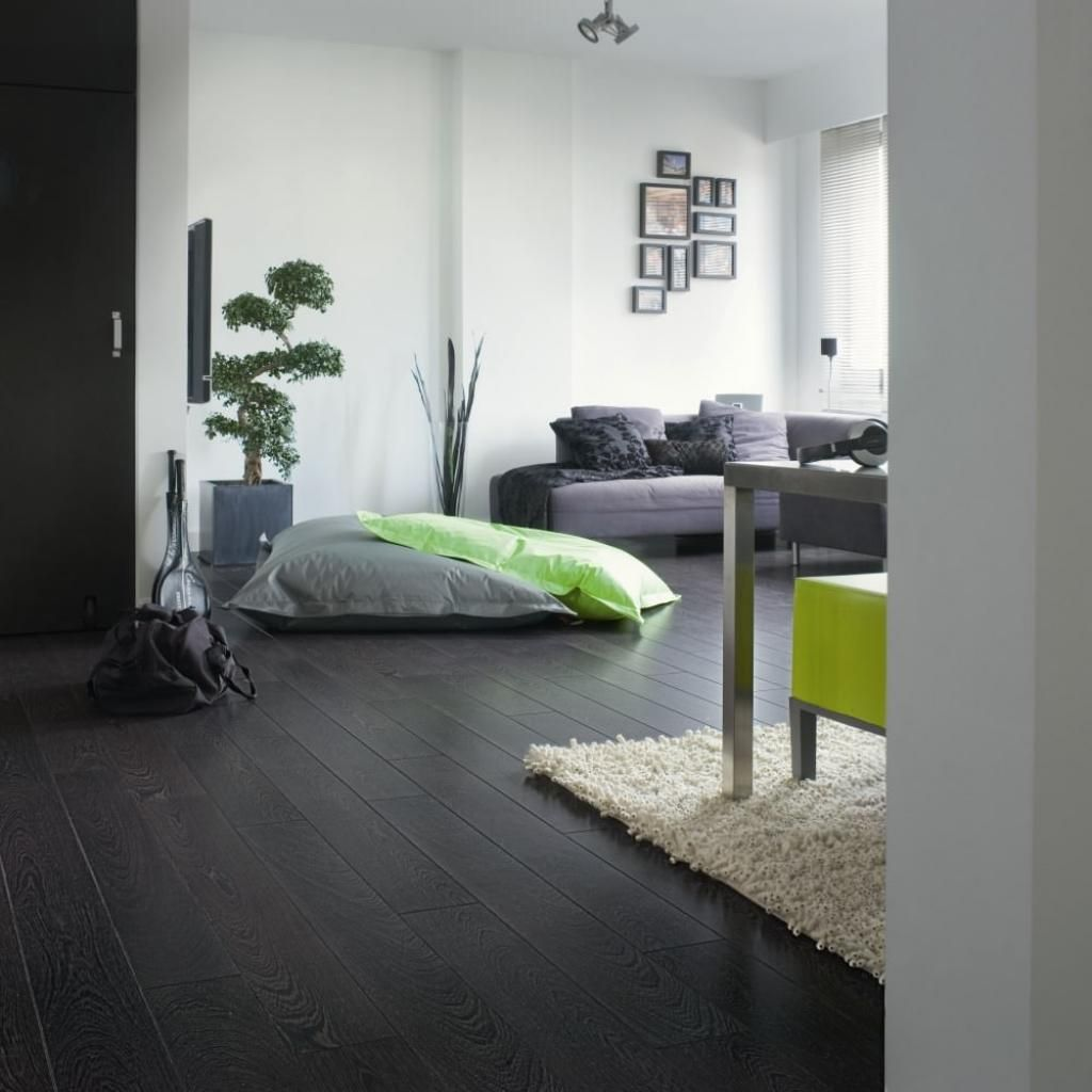 dark grey flooring living room sofas for small rooms uk how to installing laminate my home pinterest modern