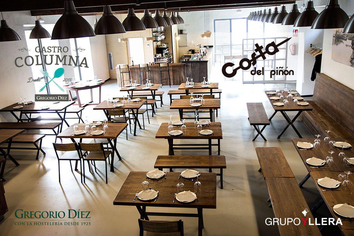 Interior Del Restaurante Costa Del Pinon En La Calle Canal 6 En El Barrio De La Victoria De Valladolid Interiores Del Restaurante Pinones Vistas