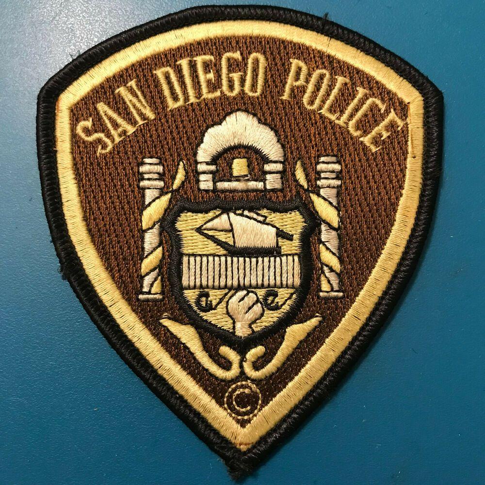 San Diego Police California CA Patch San diego police