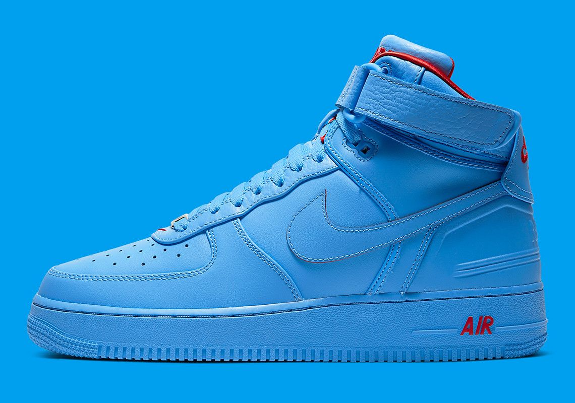 Official Images Of The Just Don X Nike Air Force 1 High Nike Nike Air Force Sneaker Nike Air Force