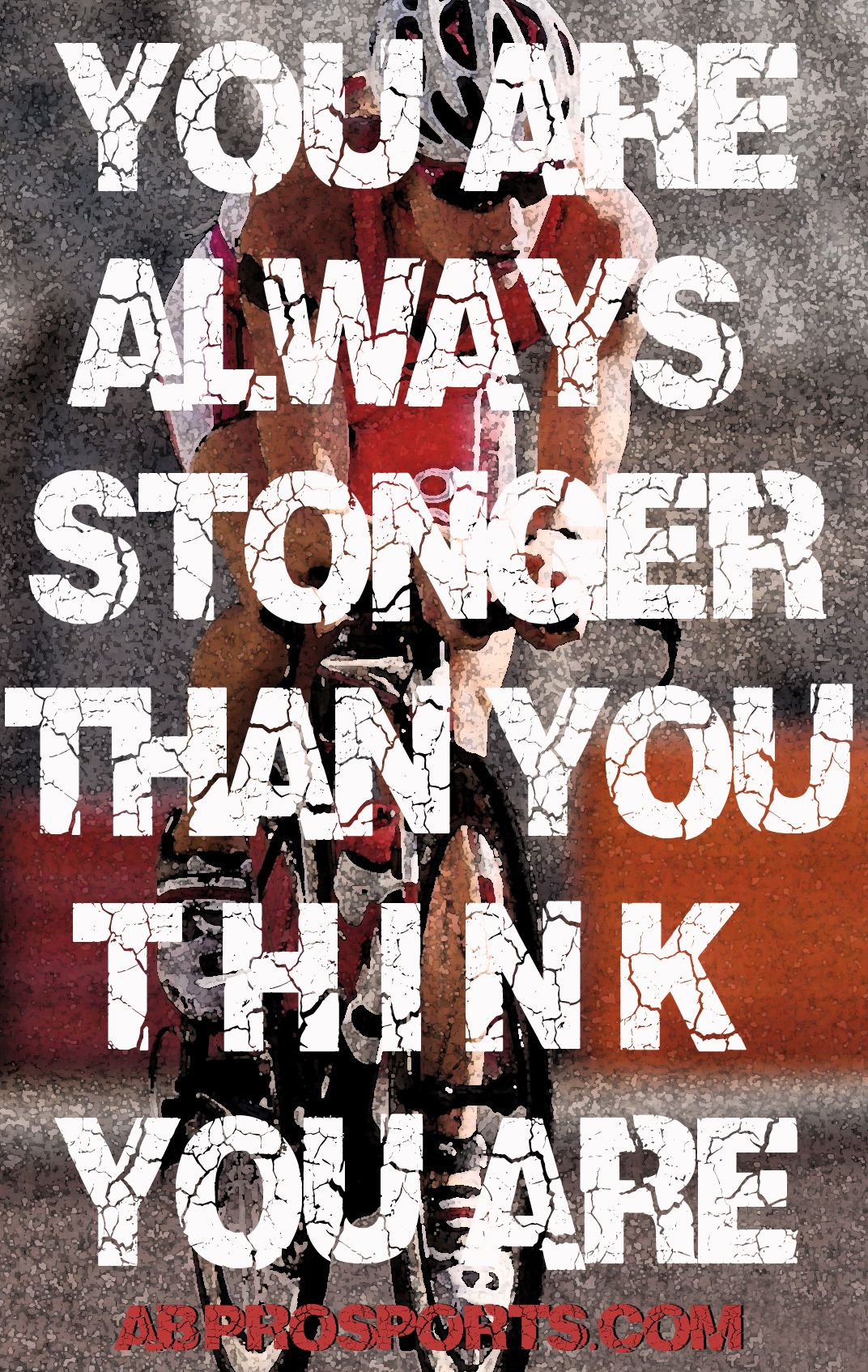 You are always stronger then you think you are http