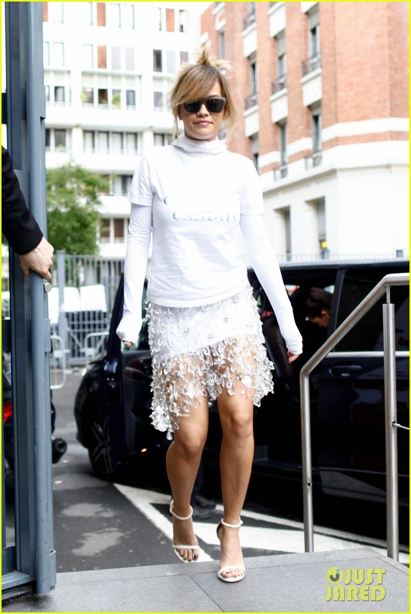 Rita Ora Actually Pulls Off the Socks & Sandals Trend